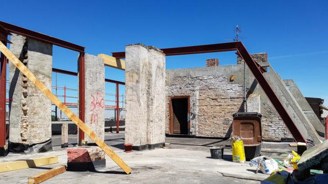 Dachunterkonstruktion