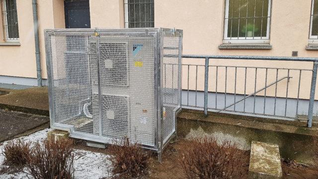 Einhausung Klimaanlage